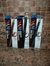NYC Eyeliner High Def Liquid Black #891 Show Time Glitter Pencils Blue & Brown