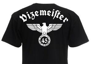 T-Shirt Reichsadler Vizemeister Deutschland Trikot 1945 WM EM WK2 Adler Gr S-XXL