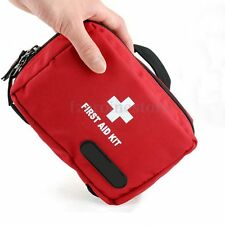 RED First Aid Kit Bag Emergency Ambulance Home Medical Sport Travel Car Outdoor
