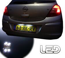 OPEL CORSA D 2 Ampoules LED blanc éclairage plaque immatriculation anti erreur