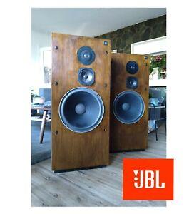 """Legendary JBL L100T CLASSIC SPEAKERS. 3Way. 12"""" JBL 2214H Woofers. Down to 22hz!"""