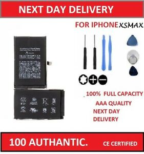 Replacement Battery Fits iPhone XS Max 3174 mAh CE Adhesive Zero Cycle