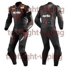 Aprilia Custom Made Racing Motorbike 1and2 Piece  Motorcycle Biker Leather Suit