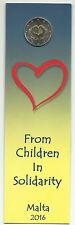 2 euro MALTE 2016 BU coincard Poinçon MDP Amour/Love