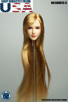 "SUPERDUCK 1/6 Female Head Sculpt SDH015C For 12"" PHICEN TBLeague Hot Toys Figure"