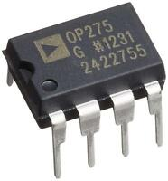 2PCS Analog Devices OP275GPZ OP275 Dual Bipolar/JFET, Audio Op Amp DIP-8 - NEW