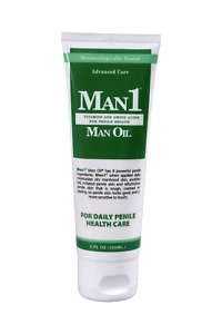 Man1 Man Oil Natural Penile Health Creme-Advanced Care! Worldwide Shipping.