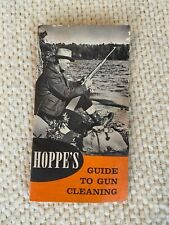 Vintage Hoppe's Guide to Gun Cleaning