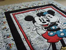 """Handmade Mosaico pannello Trapuntato / Buttare - 60 """"X 50"""" - il Mickey & Minnie"""