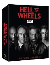 Hell On Wheels The Complete Series 17 DVD Set NEU