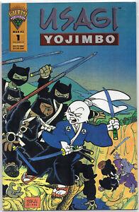 USAGI YOJIMBO #1 Stan Sakai 1st Print Mirage Teenage Mutant Ninja Turtles 1993