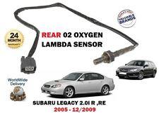 FOR SUBARU LEGACY 2.0i R RE EJ204 + 4X4 2005-2009 REAR 02 OXYGEN LAMBDA SENSOR