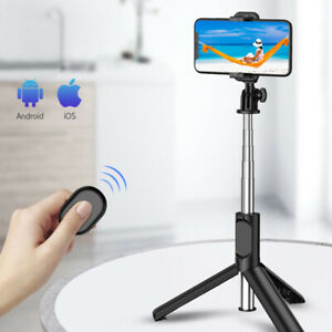 Cell Phone Holder Tripod Stand Selfie Stick For Live Streaming Video Watch Chat
