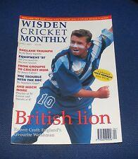 WISDEN CRICKET MONTHLY APRIL 1997 - BRITISH LION ROBERT CROFT/ENGLAND TRIUMPH