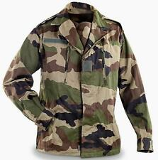 New French Military Surplus Item - CCE Camo Army Jacket Tag Size 120M / Men 2XL