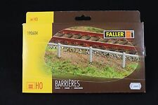 ZB065 FALLER Ho maquette train 190604  lot de BARRIERE plastique 1242*1,5*14,5