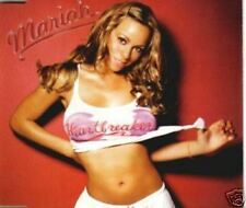 """Mariah Carey 4 TRACK AUSTRALIAN CD """"HEARTBREAKER"""" W/- REMIXES"""