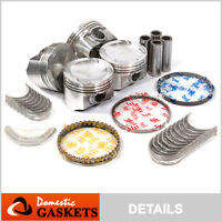 99-01 Mazda Protege 1.6L DOHC Pistons Main&Rod Bearings and Rings Set ZM