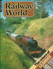 RAILWAY WORLD MAGAZINE - JUNE 1981 - IAN ALLAN