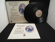 Threads of Glory 200 Years Of America In Words & Music 6-LP Box Set
