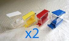 2 x DENTAL Cotton Roll Dispenser Holder Organizer ** Dental Equipment