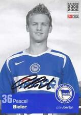 AK 878 Pascal Bieler Hertha BSC Berlin