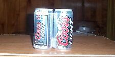 One 12oz.Coors Light.XLSuper Bowl Commerative can.40th.Anniversay.