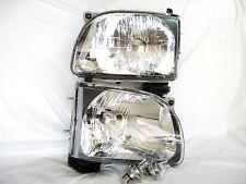 For 01-04 Tacoma Head Light Lamp RL H One Pair W/2 Light Bulbs NEW