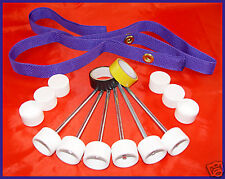 DO-IT-YOURSELF WEAVE POLE KIT - spikes stakes caps pole placer - FURNITURE GRADE