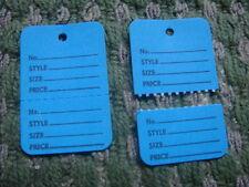 Clothing Price Tagging Tag Tagger Gun Hang Label Blue