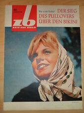 ZEIT IM BILD 44/1964 Friedrichstadtpalast Olympia-Mosaik Stölln Zeiss-Werk