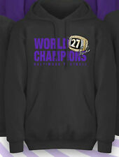BALTIMORE RAVENS 2013 CHAMPIONS HOODY RAY RICE Superbowl Ring DESTINY Black S