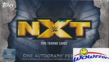 2016 Topps WWE Wrestling NXT EXCLUSIVE Factory Sealed Box with AUTOGRAPH !
