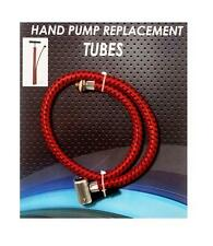 Hand Pump Bicycle Portable Air Tube Hose Head Replacement Inflator Universal