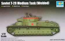 TRUMPETER® 07150 Soviet T-28 Medium Tank (Welded) in 1:72
