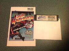 1982 Muse Software Atari 400/800 with 32k Computer Game CASTLE WOLFENSTEIN war