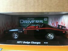 m2 machines 1/64 1971 dodge charger drivers black / red