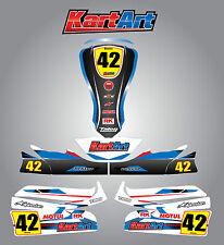Arrow X3  full custom KART ART sticker kit STORM STYLE / graphics / decals