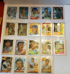 1996 Topps Finest Baseball Mickey Mantle 19 Commemorative Card Set Complete Seal