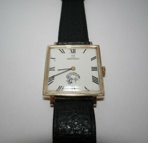 Movado Hand-Winding, 14K Solid Gold, Runs Good