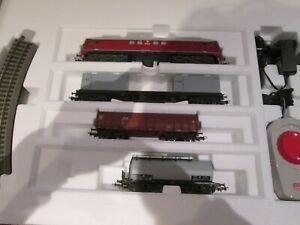 Piko 97935 Analog-Startset CSD-Güterzug mit Bettungsgleis H0