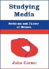 Studying Media: Problems of Theory and Method-ExLibrary
