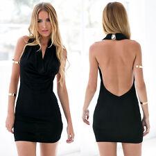 New Sexy Slim Clubwear Sleeveless Bodycon Cocktail Evening Party Club Mini Dress
