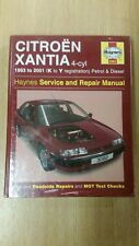 CITROEN XANTIA 93-01 K-Y REG PETROL&DIESEL HAYNES WORKSHOP MANUAL 3082 BRAND NEW