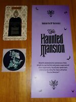 Disney Haunted Mansion pin 50th Anniversary Day of 'Retirement limited