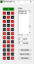 Neu - RRS - PLAYER - Roulette System Software für neue Kessel in Onlinecasinos