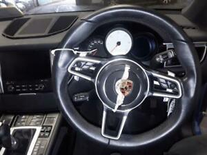 STEERING WHEEL PORSCHE MACAN MK1 (95B) 2014 On D S PDK & WARRANTY - 11618492