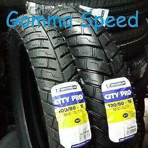 Gomme Honda SH 125 150 100/80/16 + 120/80/16 Michelin City Pro , Kymco DOT 2021