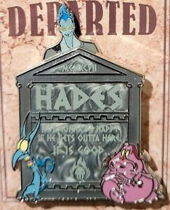 Disney Villains Fearly Departed Tombstone Hades Pin LE 5000 New In Hand