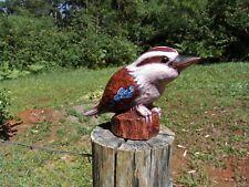 Kookaburra ornament - Hand Crafted Original Design 12cm high - Gift Boxed